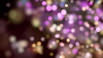 Aturdimiento púrpura en el fondo de movimiento 4k derecho