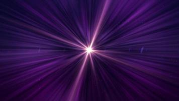 raios de luz brilhantes abstratos video