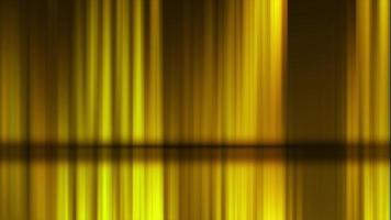 luces verticales amarillas que brillan y se mueven horizontalmente
