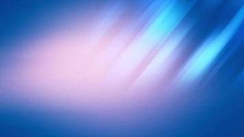rayos de luz azul suave que se desvanecen y se mueven sobre un fondo rosa y azul video