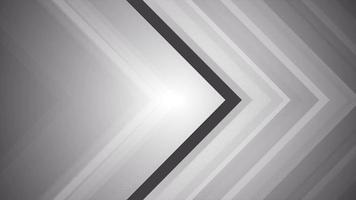 Flechas en escala de grises que se desvanecen y se mueven a la derecha de la escena. video