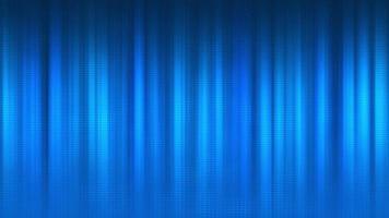 blaue 4k-Verlaufsbalken nach links und rechts mit Gitter vorne video