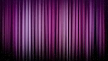 sottili linee sfumate viola dissolvenza su sfondo nero 4K video