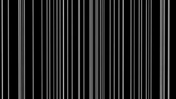 linhas em movimento preto e branco video