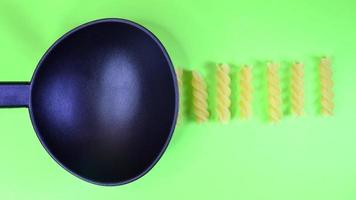 Pasta Stop Motion Fusilli