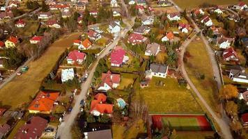 filmagem do drone em 4k - vila video