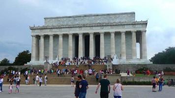 Memorial de Lincoln em Washignton DC 4k
