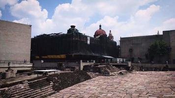 antigas ruínas do museu do templo mayor video