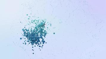 ubicación icono animación burbujas salpicar elementos morphing