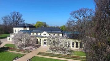 casa de chá do castelo em altenburg verão primavera verde