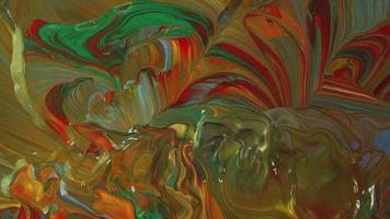 mezcla con pintura movida por el viento