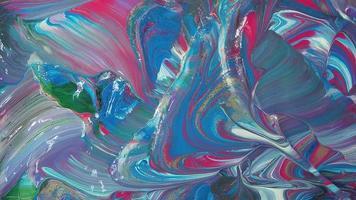 padrão de tintas rosa azul e branco