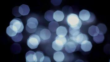 grå bokeh-lampor video