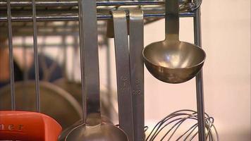 cucharón en una cocina
