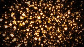 Fondo de estrellas abstractas en bucle sin costuras video
