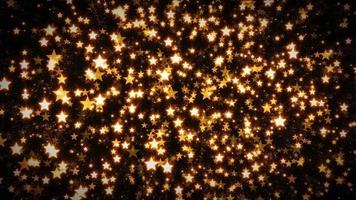 fond d'étoiles abstraites en boucle sans soudure