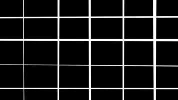 bucle de fondo de estructura metálica de rejilla abstracta video