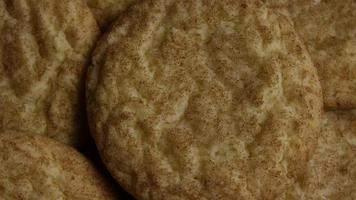 Cinematic, Rotating Shot of Cookies on a Plate - COOKIES 114 video