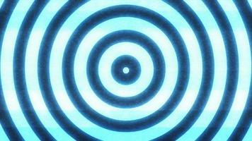 hypnotischer Hintergrund mit nahtlosen Schleifenkreisen video