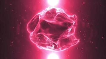 Organic Plasma Sphere Background Loop