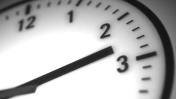 loop de fundo de lapso de tempo de relógio numérico video