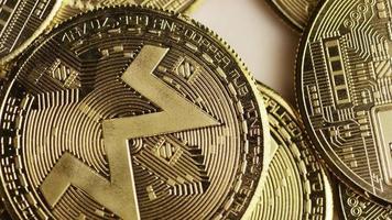 Tiro giratorio de bitcoins (criptomoneda digital) - bitcoin monero 095 video