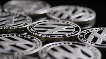 Tiro giratorio de bitcoins (criptomoneda digital) - bitcoin litecoin 410 video