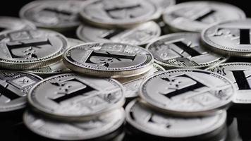 Tiro giratorio de bitcoins (criptomoneda digital) - bitcoin litecoin 492 video