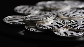 tiro giratorio de bitcoins (criptomoneda digital) - bitcoin litecoin 434 video
