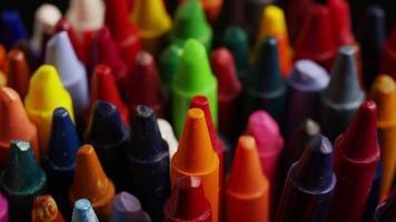 tiro giratório de giz de cera colorido para desenho e artesanato - giz de cera 010