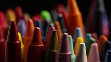 tiro giratório de giz de cera colorido para desenho e artesanato - giz de cera 018