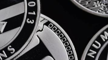Tiro giratorio de bitcoins (criptomoneda digital) - bitcoin litecoin 540 video