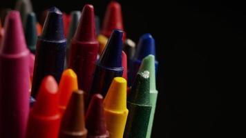 tiro giratório de giz de cera colorido para desenho e artesanato - giz de cera 004