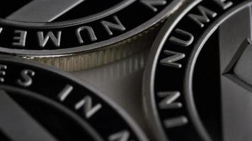 Tir rotatif de bitcoins litecoin (crypto-monnaie numérique) - bitcoin litecoin 0100