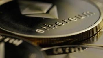 Tir rotatif de bitcoins Ethereum (crypto-monnaie numérique) - bitcoin ethereum 0100