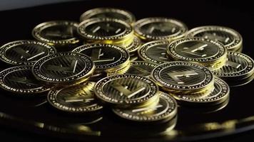 tiro giratorio de bitcoins (criptomoneda digital) - bitcoin litecoin 257 video