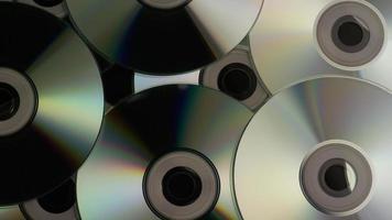 Disparo giratorio de discos compactos - cds 002