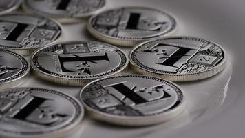 Tir rotatif de bitcoins litecoin (crypto-monnaie numérique) - bitcoin litecoin 0123