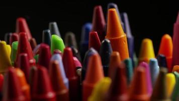 tiro giratório de giz de cera colorido para desenho e artesanato - giz de cera 017