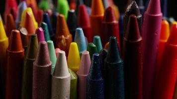 tiro giratório de giz de cera colorido para desenho e artesanato - giz de cera 003