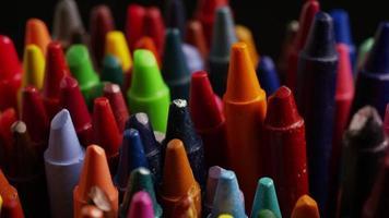 tiro giratório de giz de cera colorido para desenho e artesanato - giz de cera 012