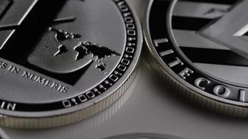 Disparo giratorio de litecoin bitcoins (criptomoneda digital) - bitcoin litecoin 0138