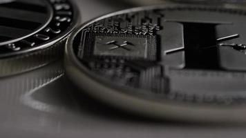Tir rotatif de bitcoins litecoin (crypto-monnaie numérique) - bitcoin litecoin 0145