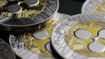 Tir rotatif de bitcoins (crypto-monnaie numérique) - ondulation bitcoin 0116