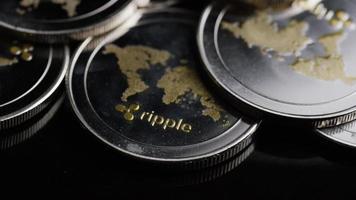 colpo rotante di bitcoin (criptovaluta digitale) - ripple bitcoin 0149