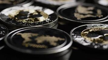 tiro giratório de bitcoins (criptomoeda digital) - ondulação de bitcoin 0174