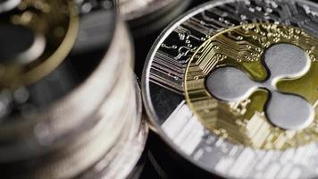 Tir rotatif de bitcoins (crypto-monnaie numérique) - ondulation bitcoin 0208
