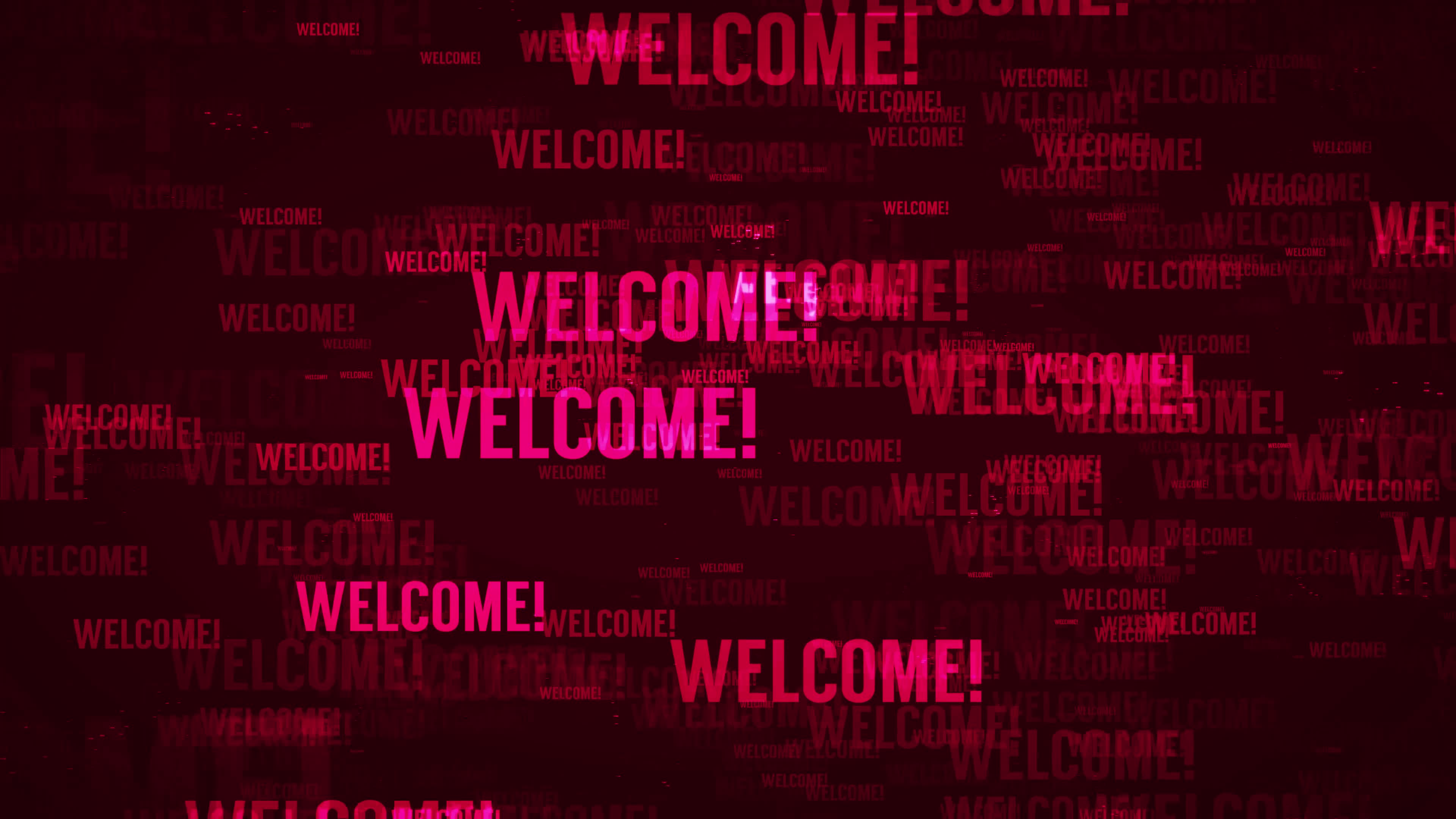 [تصویر:  welcome-message-background-loop-in-red-text-video.jpg]