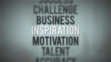 ciclo di animazione citazione di successo aziendale
