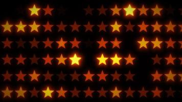 fundo abstrato de estrelas brilhantes